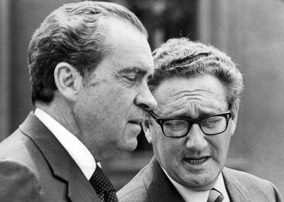 Richard Nixon e Henry Kissinger
